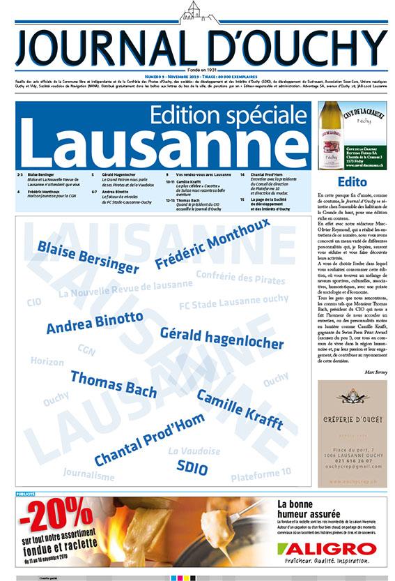 couvertureJO Spec Lausanne nov 2019